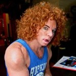 Carrot Top Comedian at Luxor Hotel and Casino Las Vegas 2