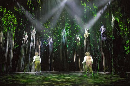 Lord Of The Rings Musical Tour