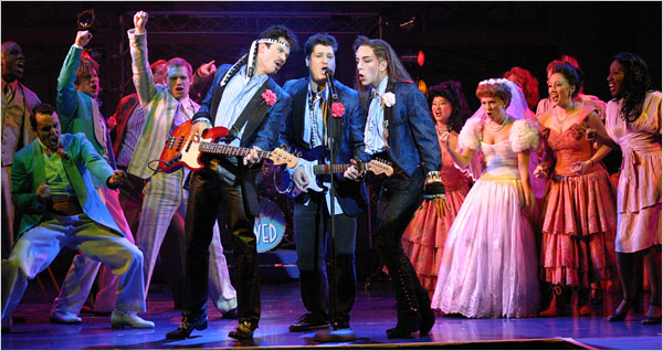 Wedding Singer Musical Review