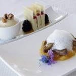 Alize Restaurant top of the palms bbc interview and review chef andre rochat with alex belfield 4