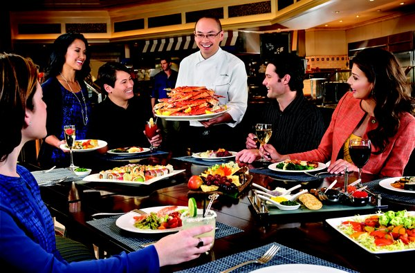 Enjoy Celebrity Radio's Bellagio Buffet Review Las Vegas….. The Bellagio Buffet is not trying to be 'eat as much as you can for as cheap […]
