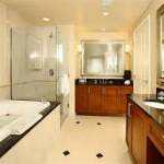 MGM Signature review bathroom 1