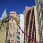 roller coaster at new york-new york las vegas review
