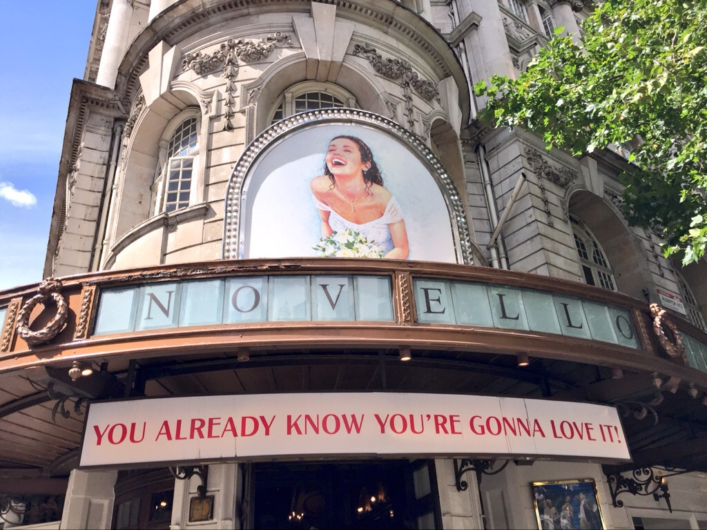 Novello Theatre West End Mamma Mia Review At
