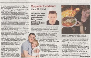 Alex Belfield Nottingham Evening Post