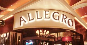 Allegro 24 hour restaurant review at wynn and encore las vegas menu