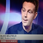 Alex Belfield BBC Look North