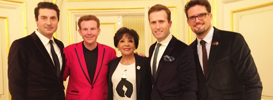 Enjoy Celebrity Radio's Dame Shirley Bassey World Exclusive In-Depth TV Interview… Dame Shirley Bassey has teamed up with the brilliant classical trio Blake for her first EVER Christmas single. They're aiming