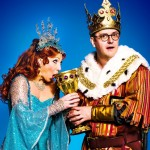 Bonnie Langford and Joe Pasquale in Spamalot 2013