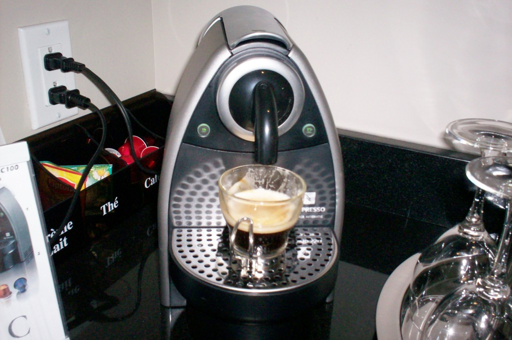Hotel Le Crystal Montreal Review Coffee