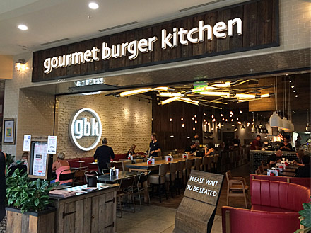 Gourmet Burger Kitchen Menu Review