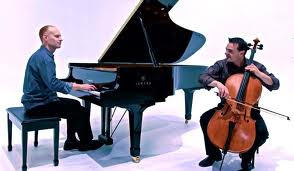 The Piano Guys Interview and story Youtube new album cello Thomson advert with Alex Belfield www.celebrityradio.biz 5