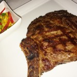 Biscayne Steak & Seafood Restaurant Tropicana Hotel and Casino Las VEgas rib-eye steka