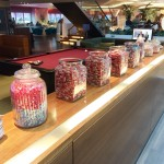 Virgin Atlantic Upperclass Clubhouse Business Lounge Heathrow Review 2014 sweets