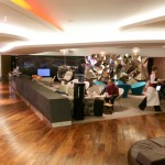 Virgin Atlantic Upperclass Clubhouse Business Lounge Heathrow Review 2014 terminal 3