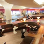 Virgin Atlantic Upperclass Clubhouse Business Lounge Heathrow Review 2014 seating
