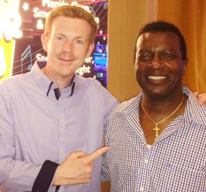 Early Clover Interview at Forever Doo Wop & Motor City Riviera Hotel And Casino Las vegas with Alex Belfield