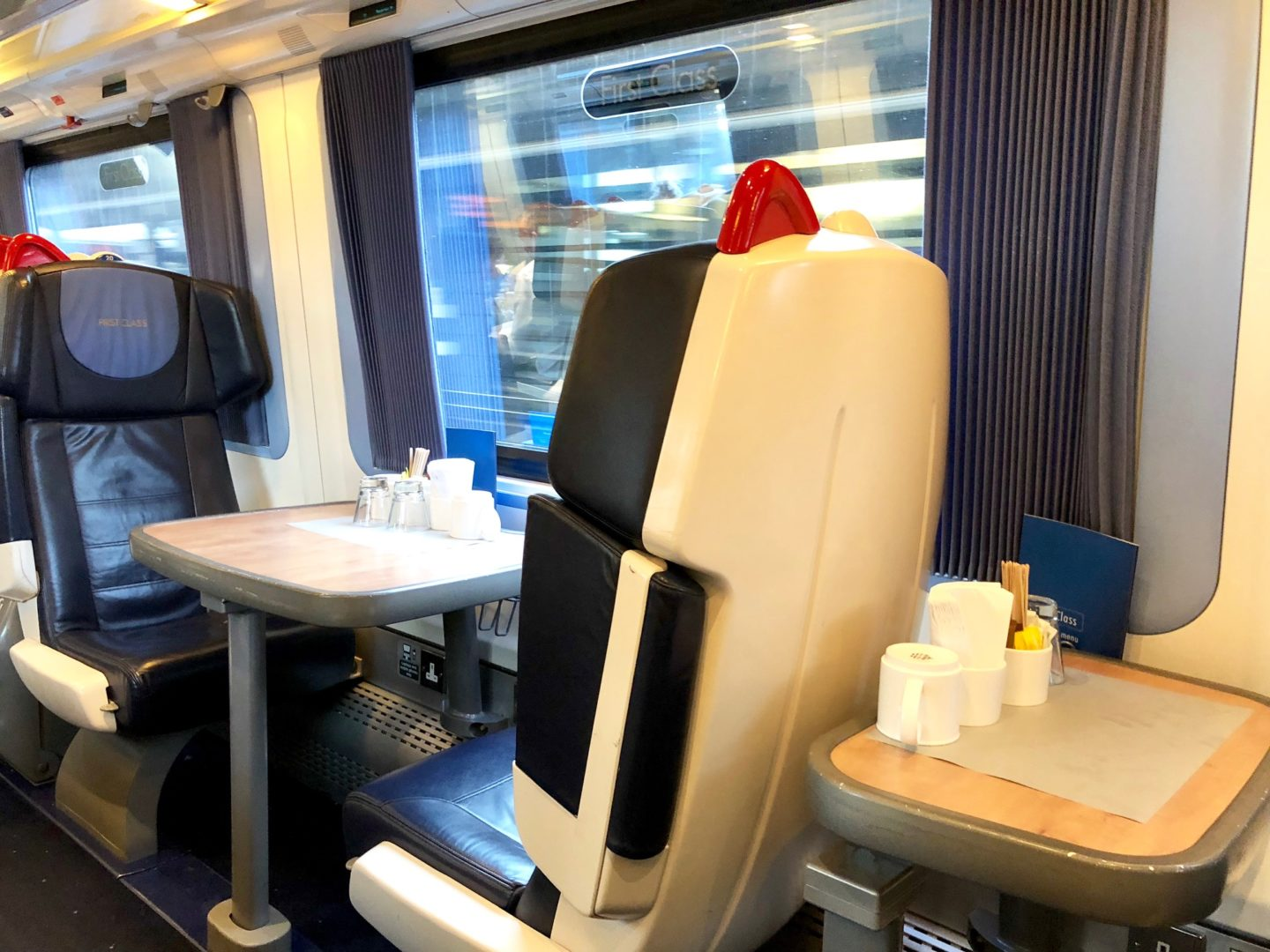 Get A Rate >> 5* Review East Midlands Trains First Class - Celebrity ...
