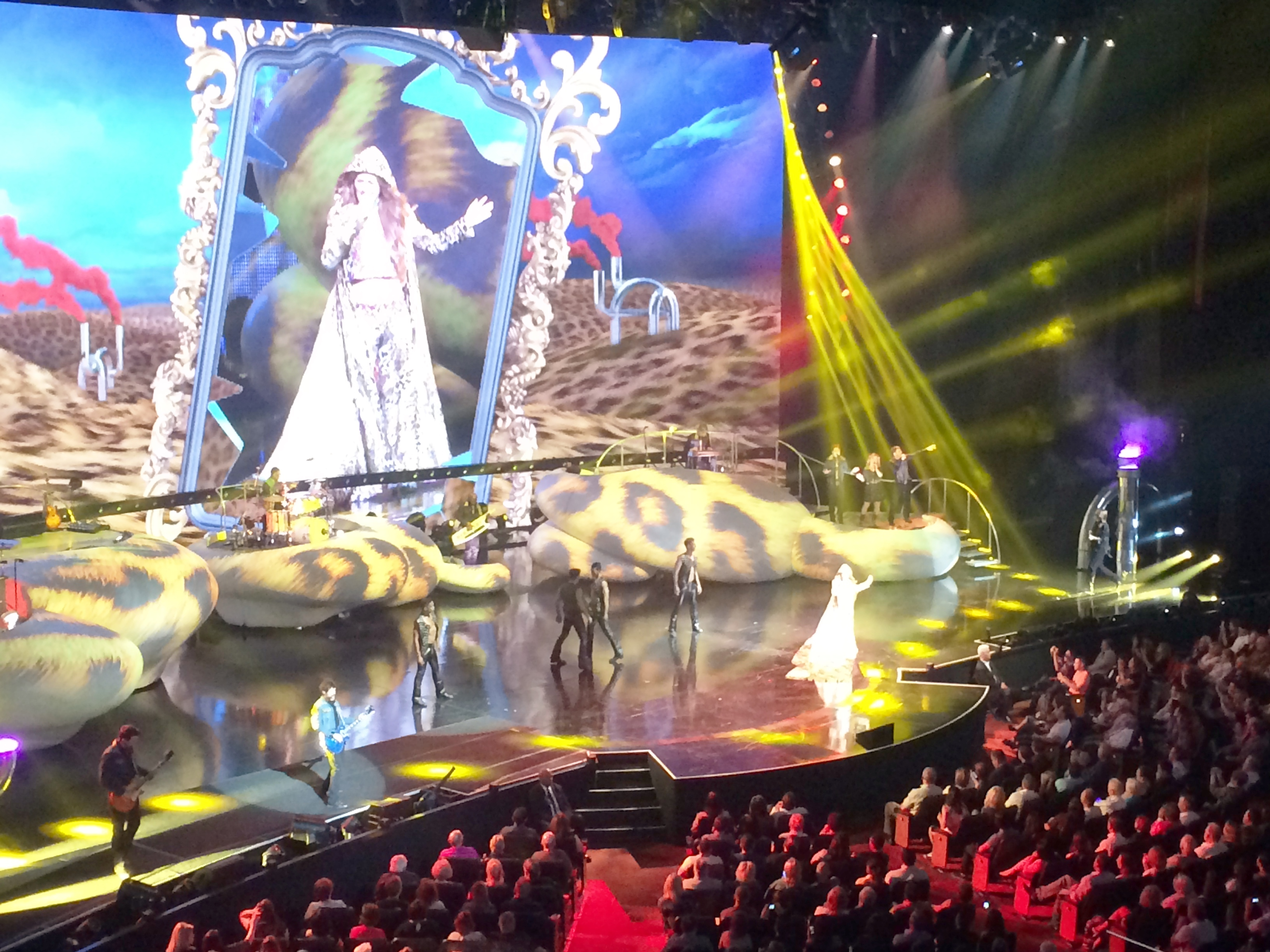Shania Twain Still The One Caesars Palace Colloseum Las