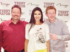 Terry Fator and Alex Belfield interview 2014