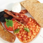 Virgin Atlantic Revivals Lounge ~ Arrivals Lounge T3 Heathrow Airport Review Full English Breakfast