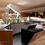 Virgin Atlantic Clubhouse Upperclass Lounge EWR Newark Airport New York Bar
