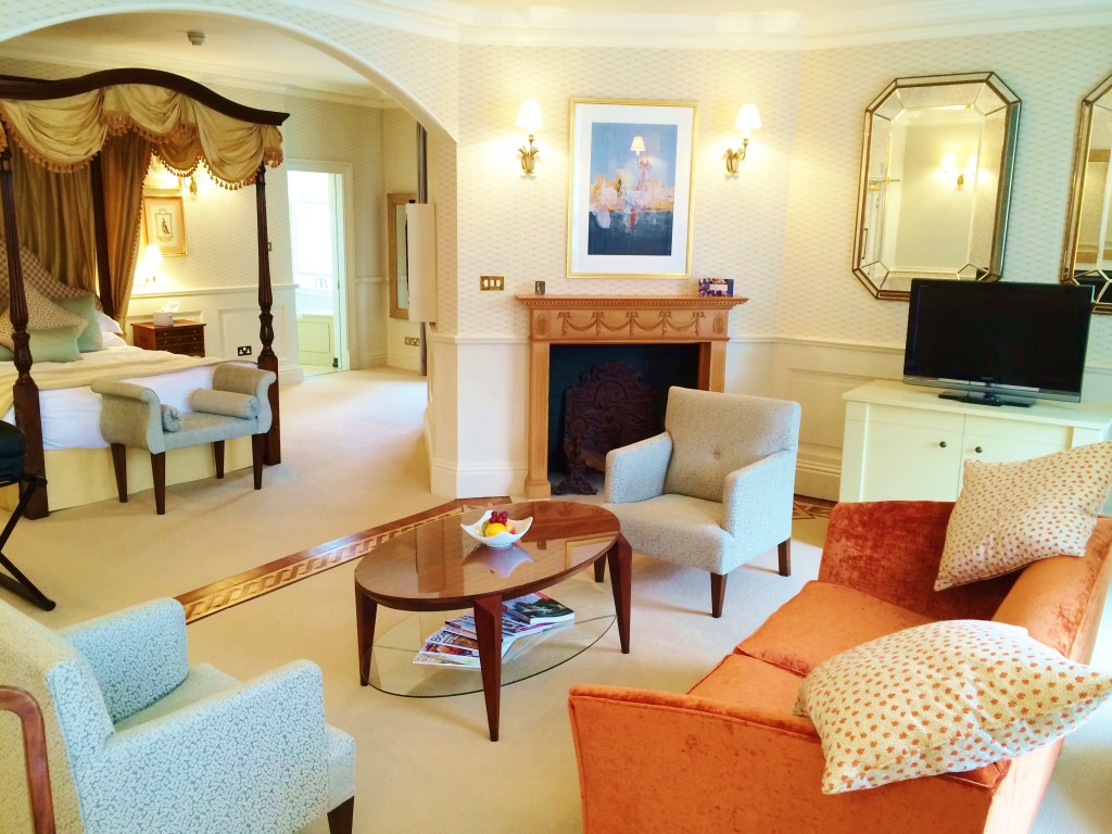 Review Castle House Hotel Hereford Royal Wedding suite
