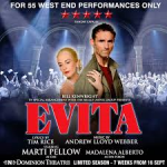 Review Evita The Musical West End