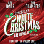White Christmas Wendi Peters Aled Jones Tom Chambers Dominion Theatre