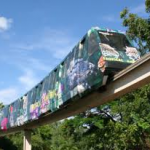 Miami Zoo Monorail Review 2015