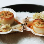 Savoy Grill Restaurant review Gordon Ramsay Scallops