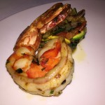 Villa Azur Miami Beach Restaurant review  Tiger shrimp