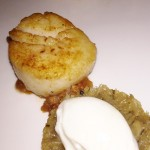 Villa Azur Miami Beach Restaurant review  seared scallop