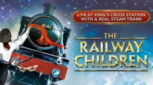 "Enjoy Celebrity Radio's The Railway Children Review Kings Cross West End… The posters for the stage adaptation of E Nesbit's 1906 children's book excitedly boasts ""A Real Steam Train!"" When"