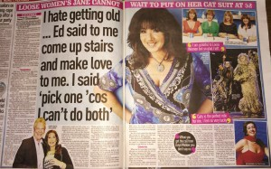 Jane Mcdonald 19th April Sunday People