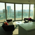 Staying Cool Penthouse 2 Bedroom Apartment Hotel Rotunda Birmingham Review Kitchen View