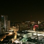 Staying Cool Penthouse 2 Bedroom Apartment Hotel Rotunda Birmingham Review Night View