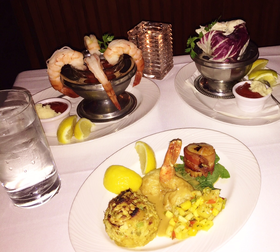 Apetisers The Palm Las Vegas Review Seafood