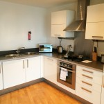 Blue Rainbow Aparthotel Manchester Review Kitchen
