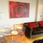 Blue Rainbow Aparthotel Manchester Review living room