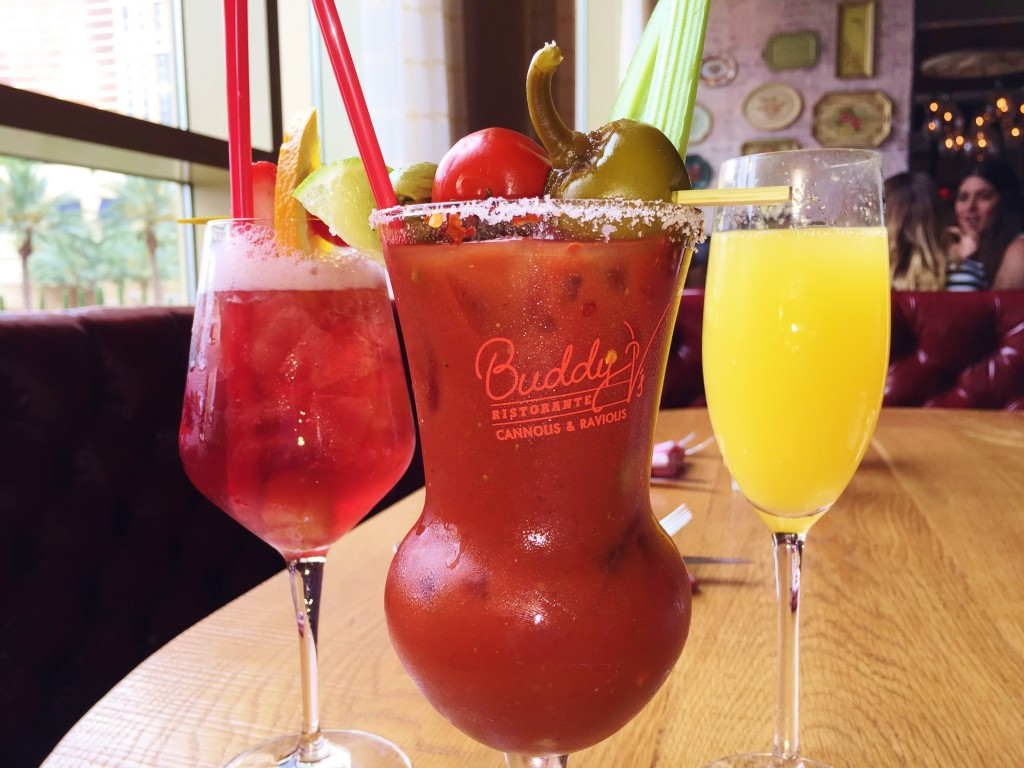 Bottomless Sangri Bloody Mary's Buddy V's Burnch Las Vegas