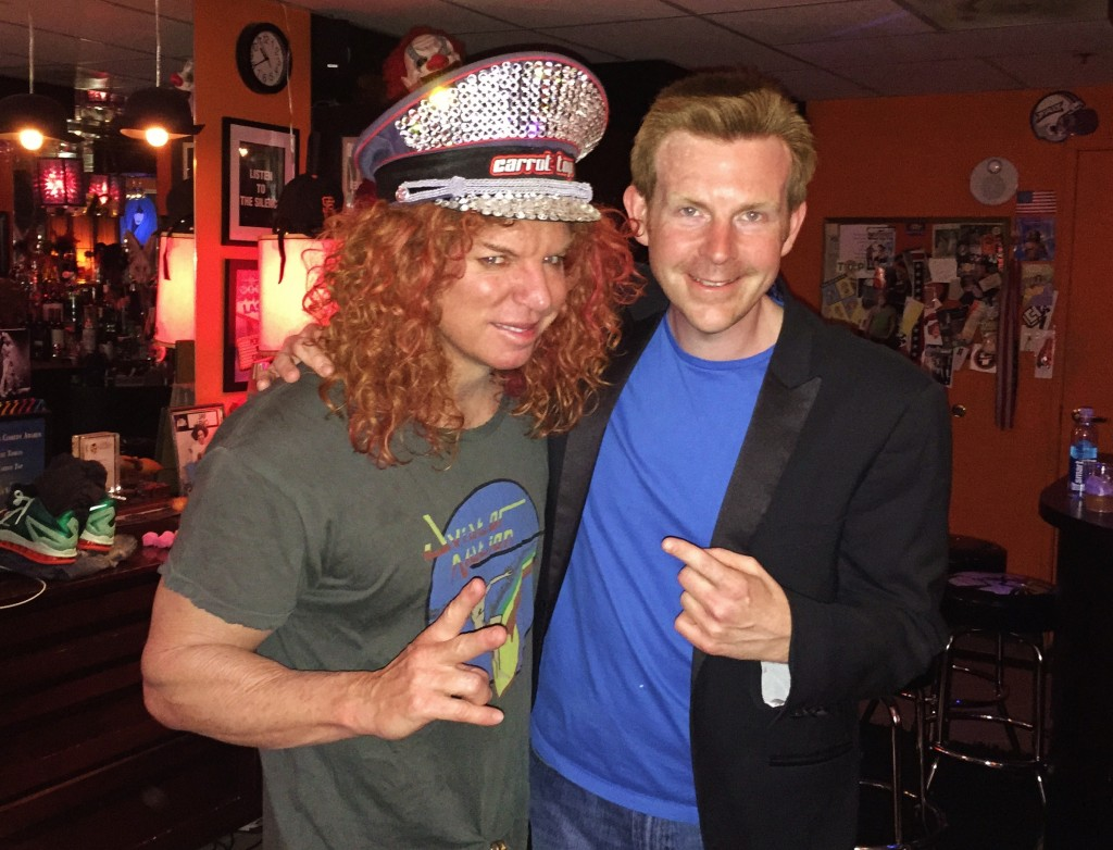 Carrot Top 10th Anniversary Celebration At The Luxor In ...  |Carrot Top 2015