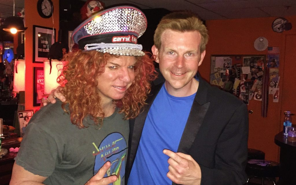 Carrot Top Alex Belfield 2015