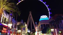 Enjoy Celebrity Radio's Review Observation Wheel High Roller Las Vegas…. Soaring bright above the Las Vegas Strip, the 550-foot-tall High Roller is largest observation wheel in the WORLD! Naturally it