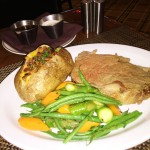 PRime Rib 14 ounce steal Review The Henry Las Vegas