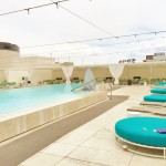 Review Downtown Grand Casino Hotel Rooftop Pool
