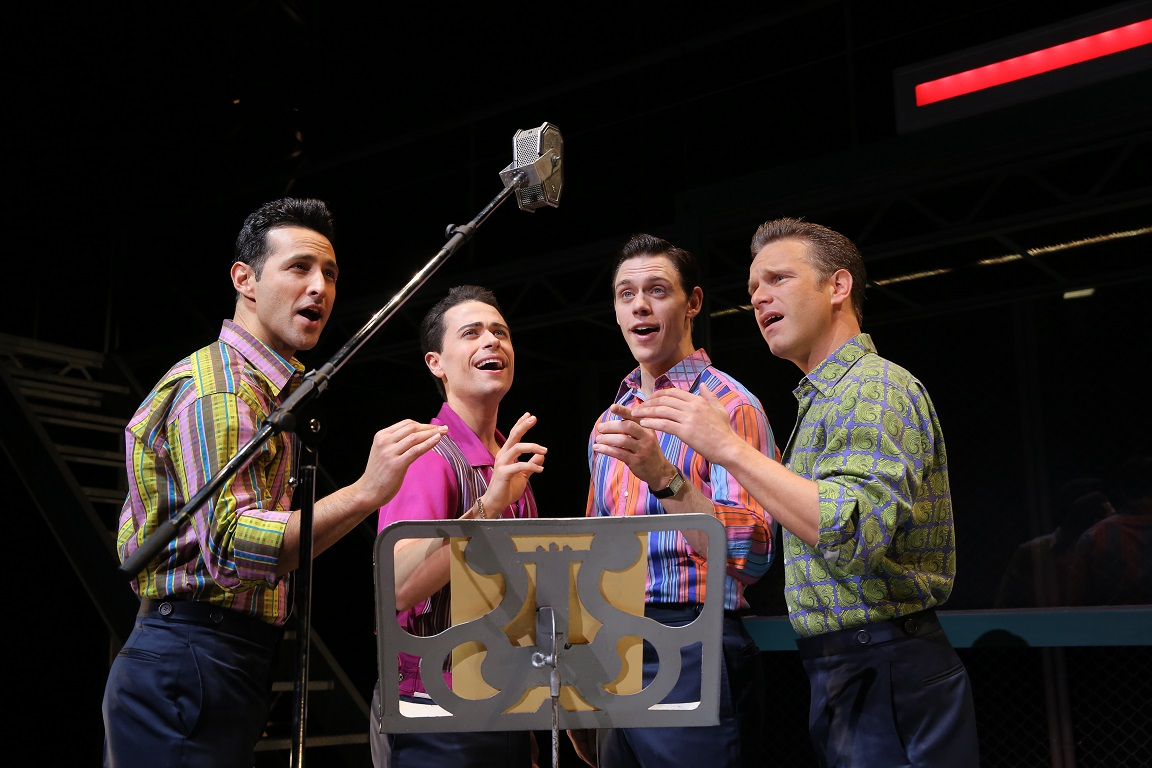jersey boys musical review Jersey boys - the four seasons inspired musical - tells the real life story of how the group came to be tracking the high points of finally finding fame and also the price some members paid in return, this is not your average jukebox musical act i is slow to start, the accents are questionable, the.