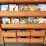 Delta Sky Club Lounge review Newspapers Magazines