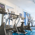 Gym at Doubletree Hilton Westminster