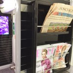 Review Business first Heathrow Express Free newspapers